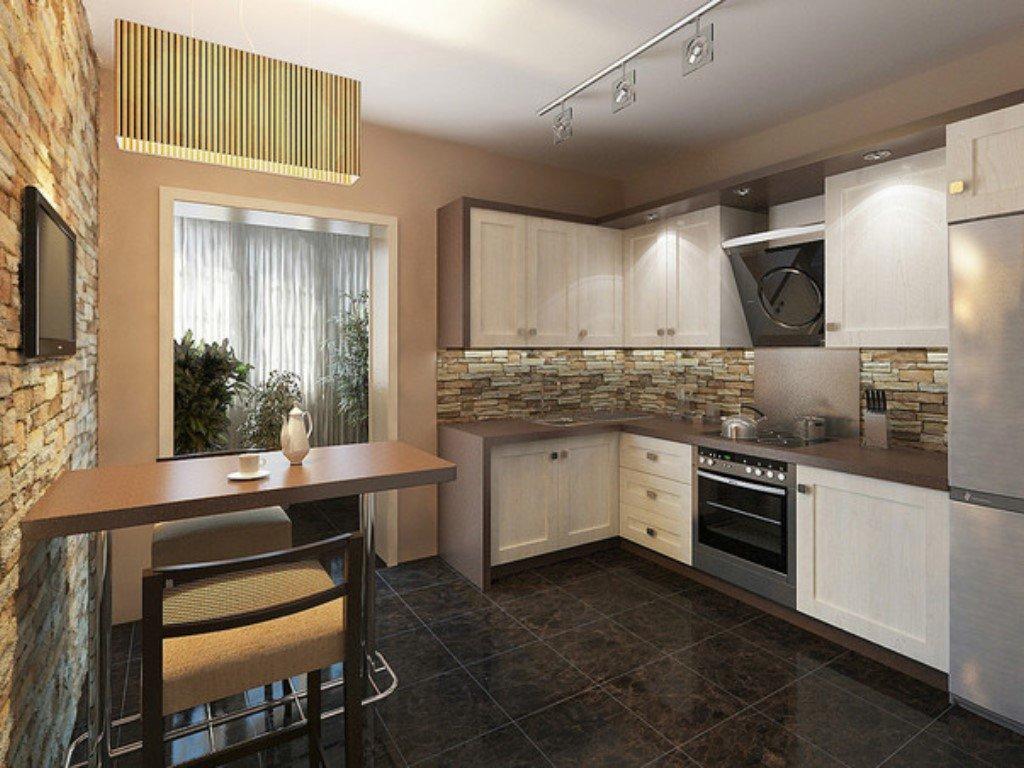 Картинки квартирных кухонь