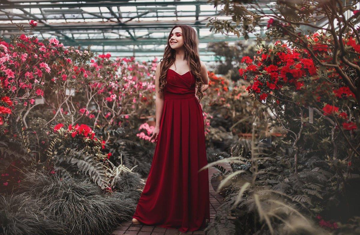 Фотосессия в ботаническом саду москва