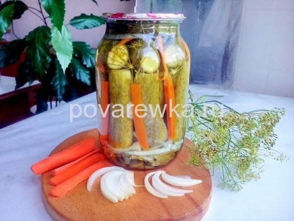 огурцы по-болгарски самый вкусный рецепт на зиму
