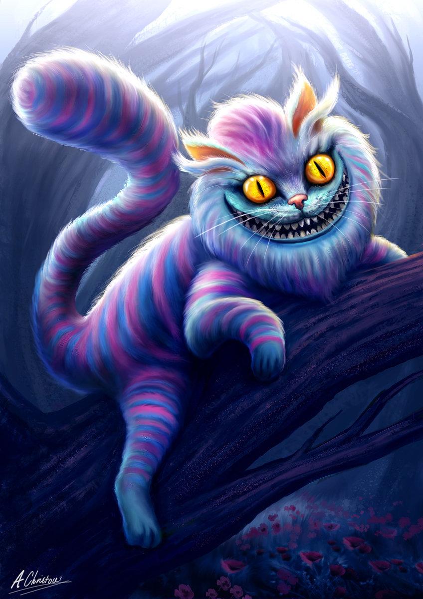 Чеширская кошка фото