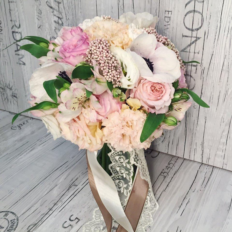 Цветы, букет невесты кантемировская москва