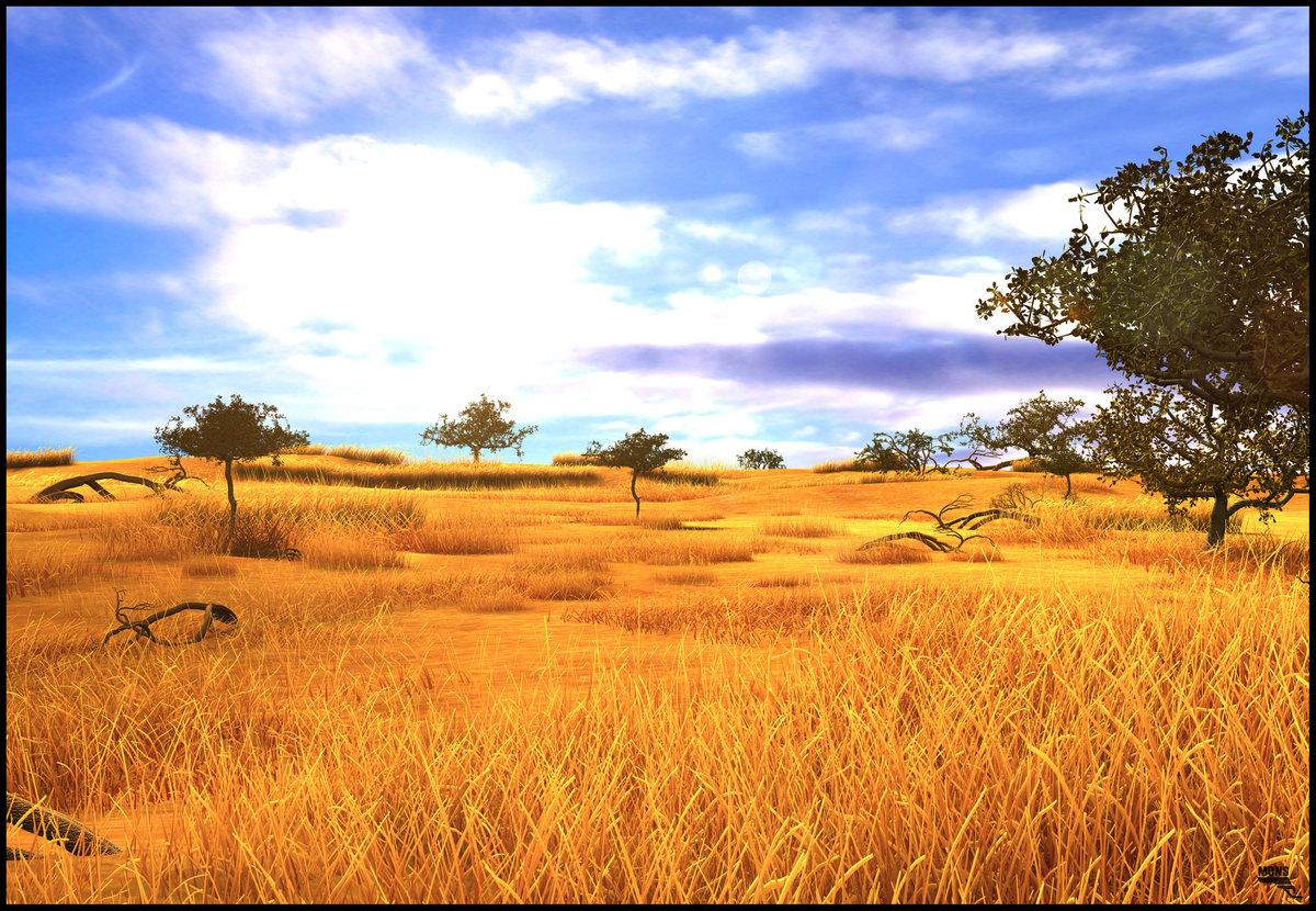 картинка природа африки без животных один них