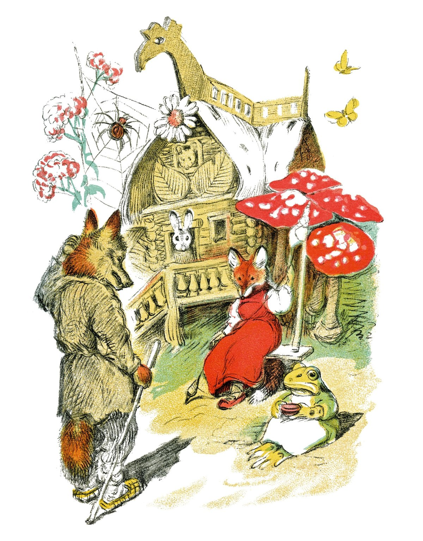 Марта открытку, картинки детских иллюстраторов