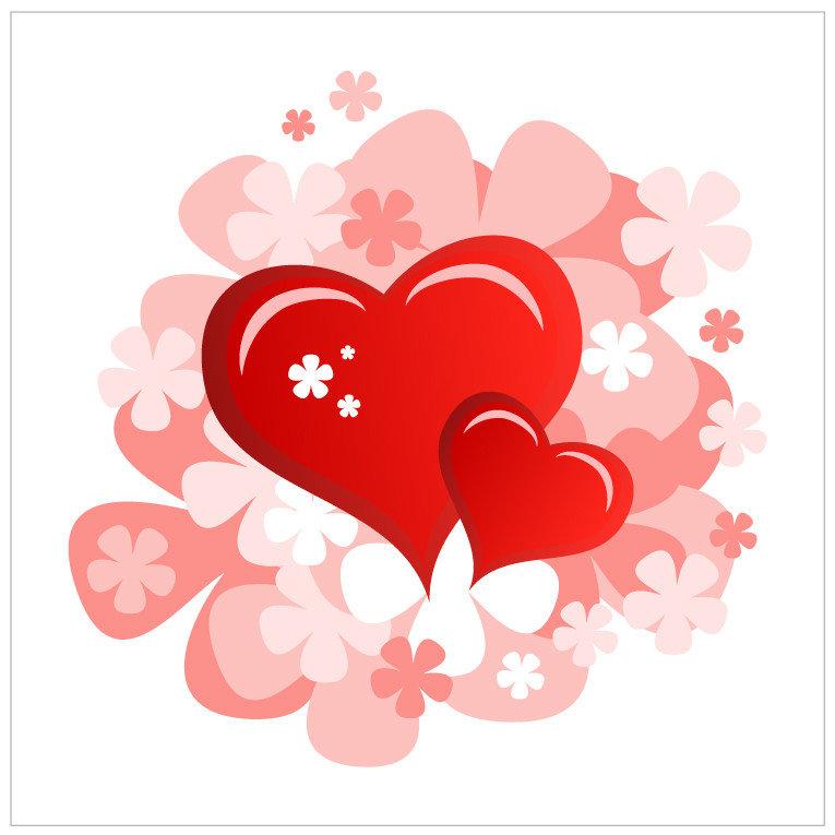 сердце открытка вектор