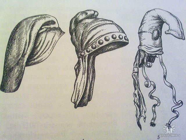 Древнегреческие головные уборы