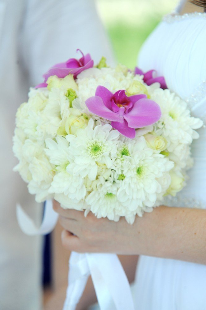 Дизайн свадебные букеты с хризантемами