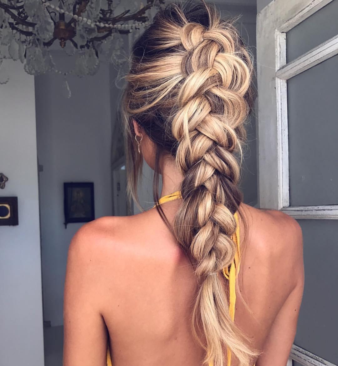 картинка колосок из волос девушки научились