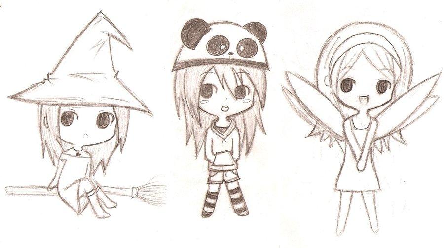best Dibujos Para Colorear De Anime Chibi image collection