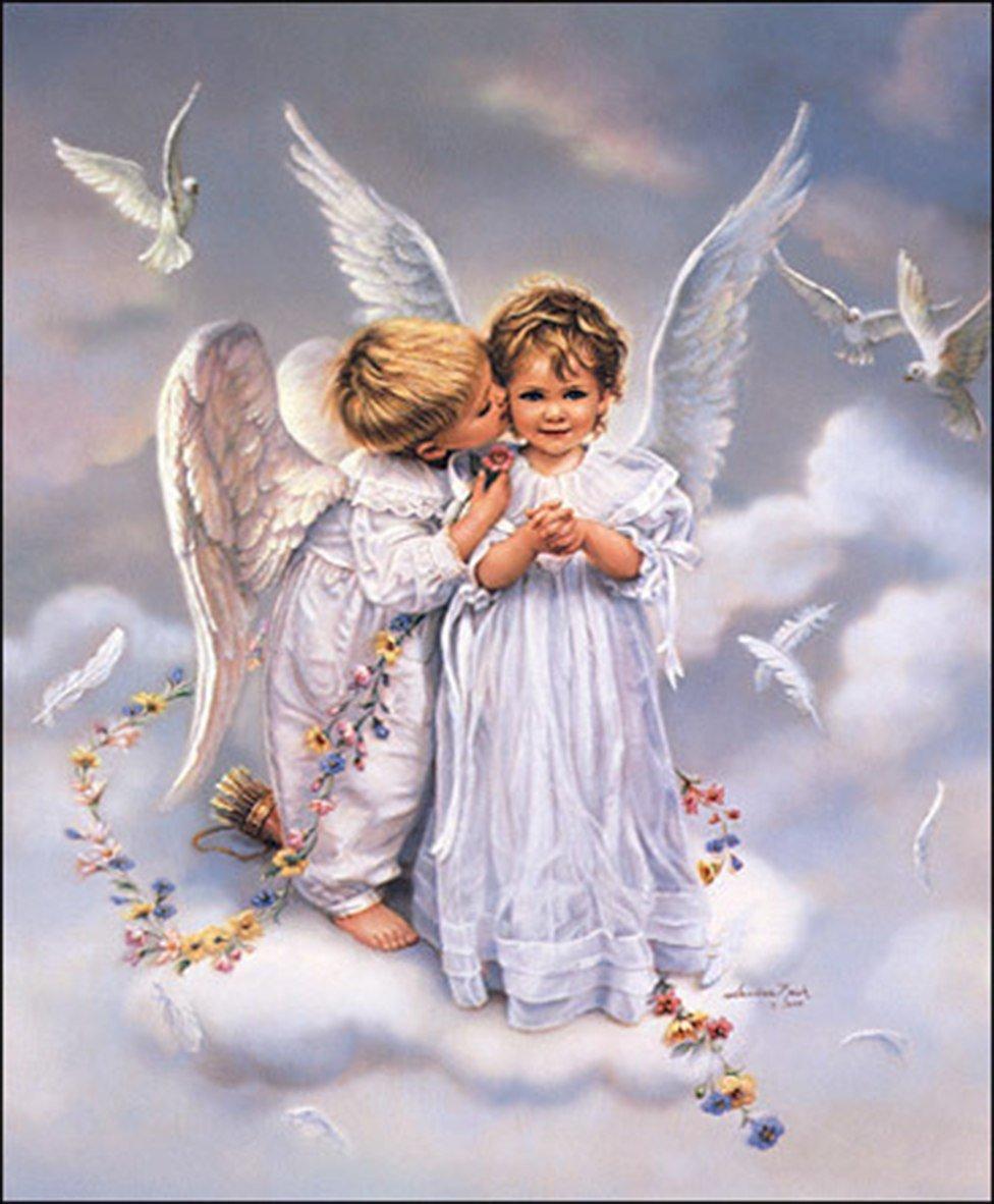Открытка учителю, открытки красивые ангелы