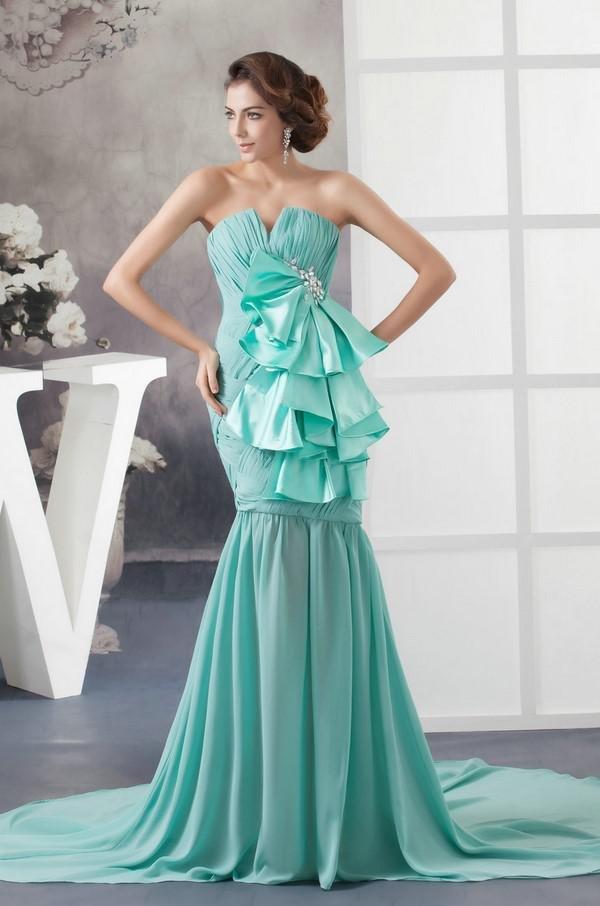 платья в пол цвета тиффани фото стеклянная