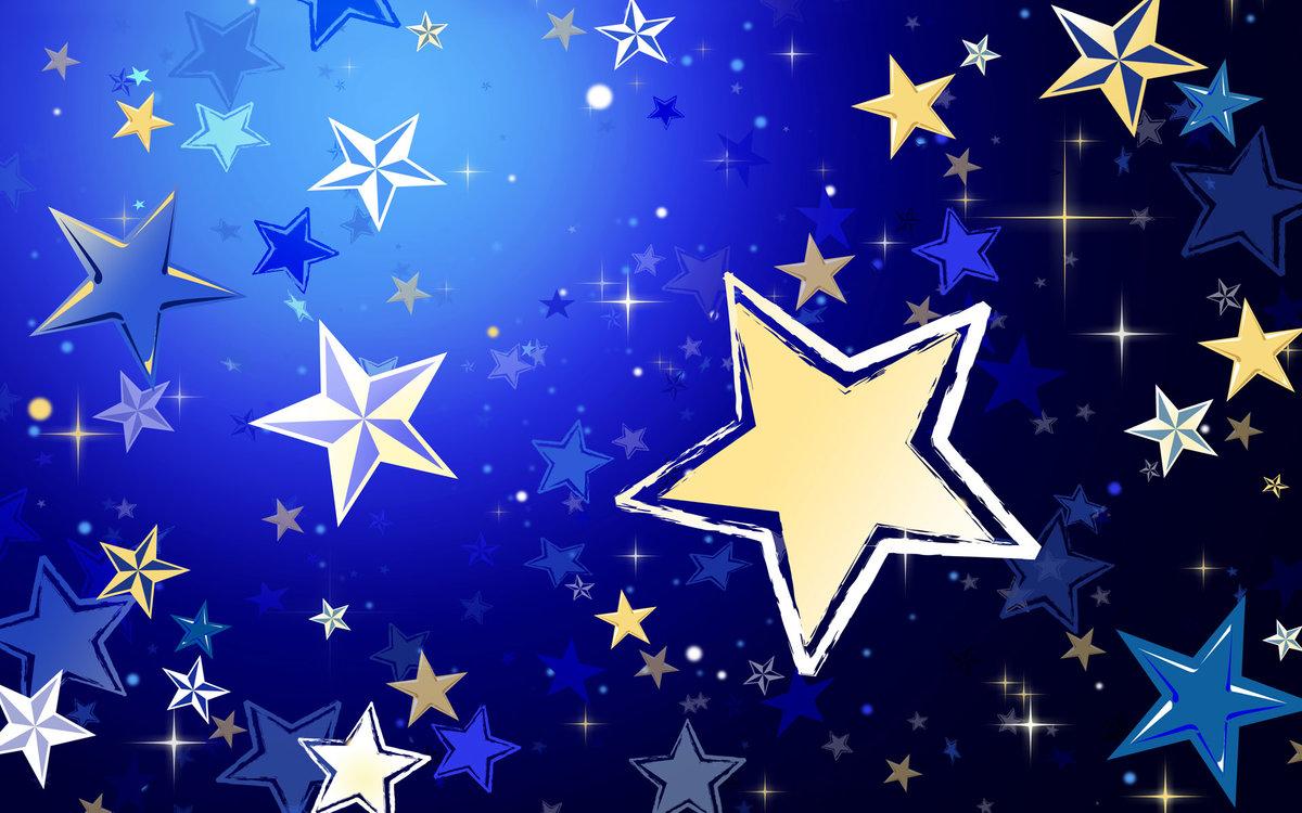 Доброе, красивые открытки со звездами