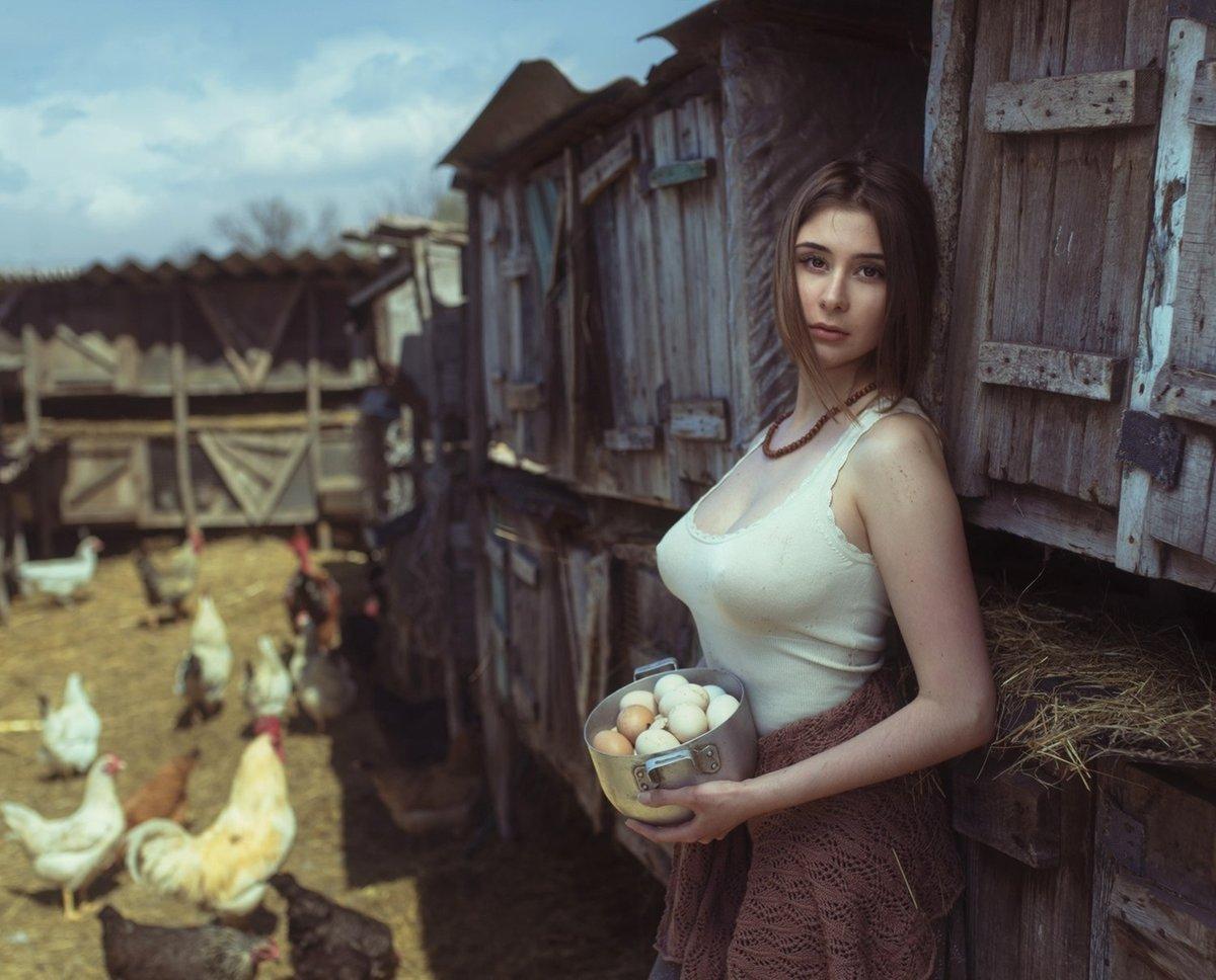 деревне девушка за деньги - 13