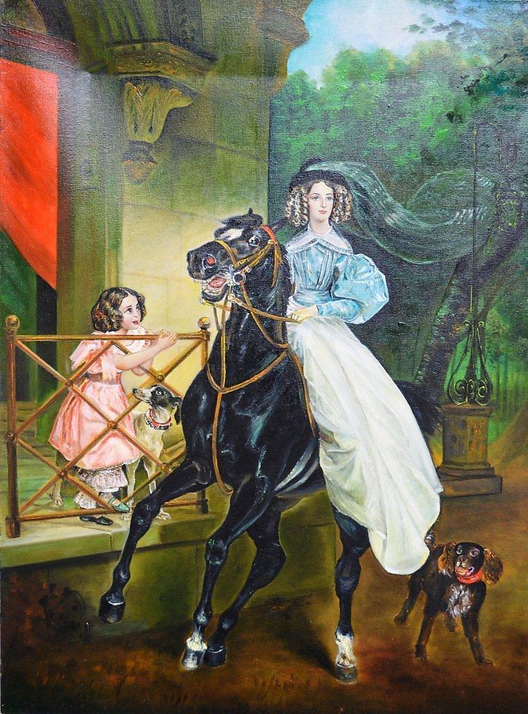 Открытка, открытки с репродукциями известных картин