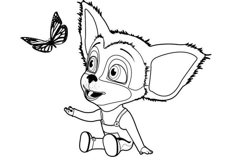 «Раскраски для детей с собаками и кошками: картинки разной ...