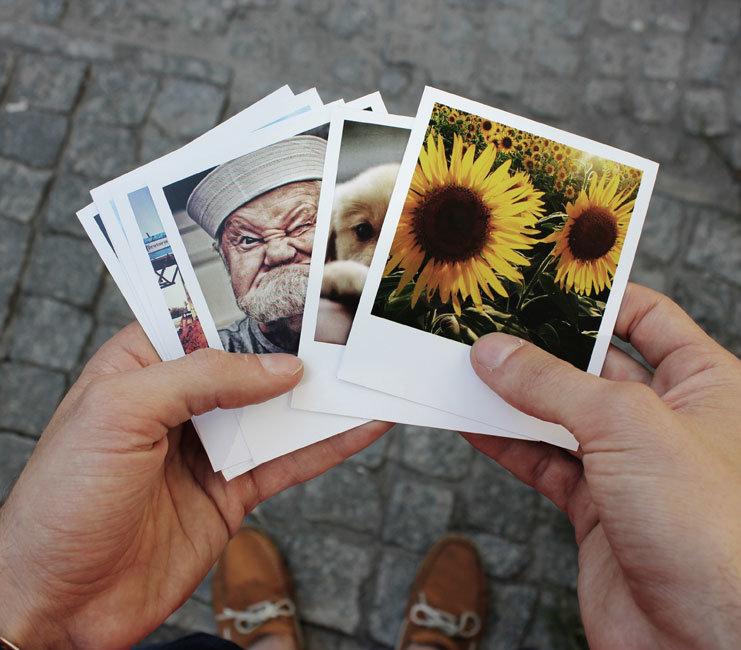 Можно ли распечатать фото из инстаграмма