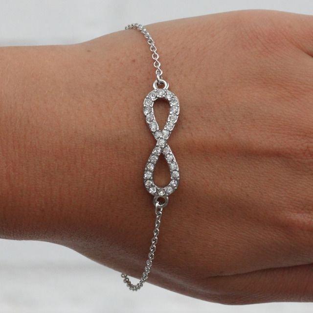 Бесконечности со знаком браслет ювелирные украшения