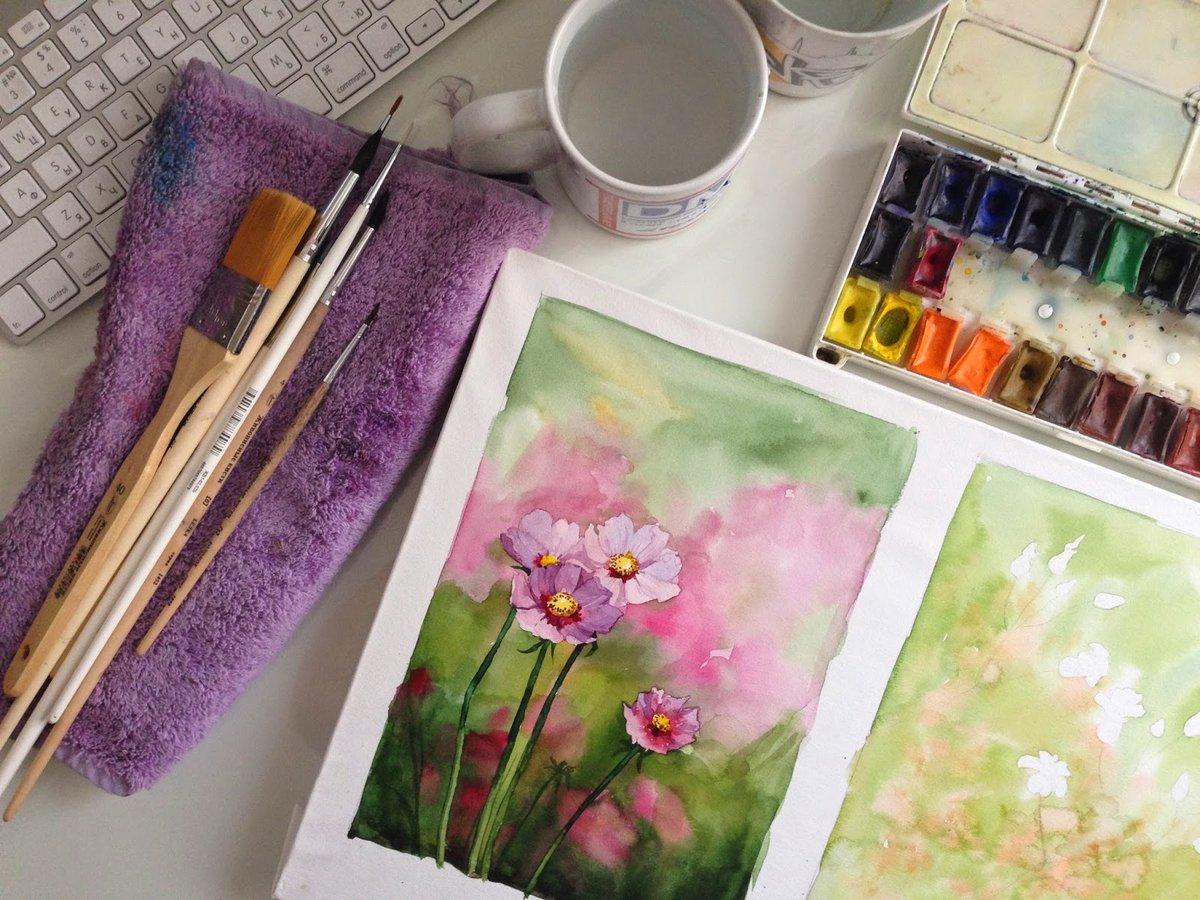 Картинки паши, рисуем акварелью открытки