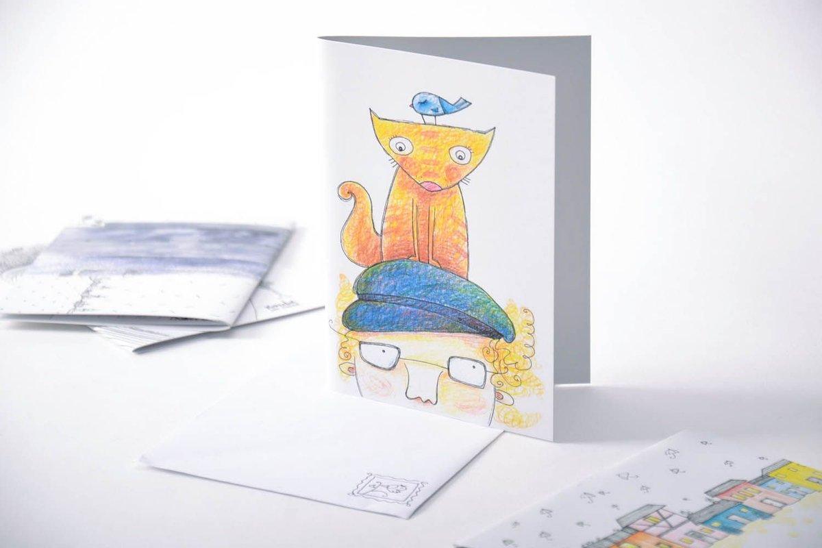 Смешные, нарисовать и сделать открытку
