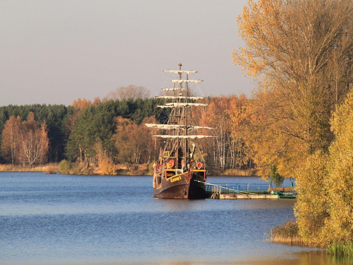Осенние кораблики картинки