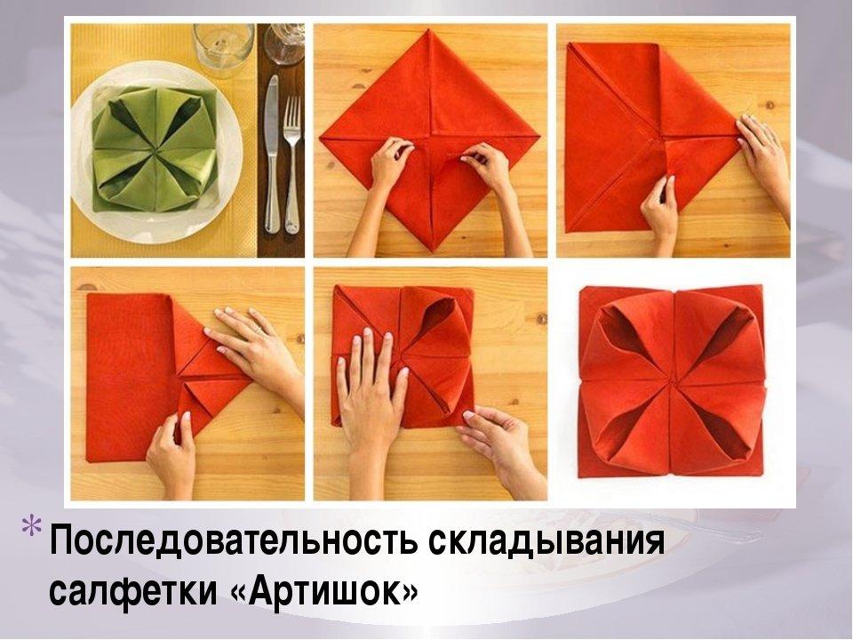 картинки как делать салфетки официальный сайт