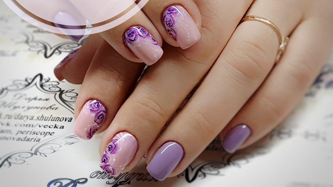 дизайн ногтей акварель видео - Тюменский издательский дом