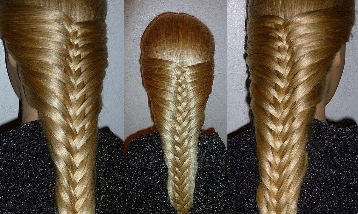 Как сделать косу из волос видео, фото пизденок на весь экран