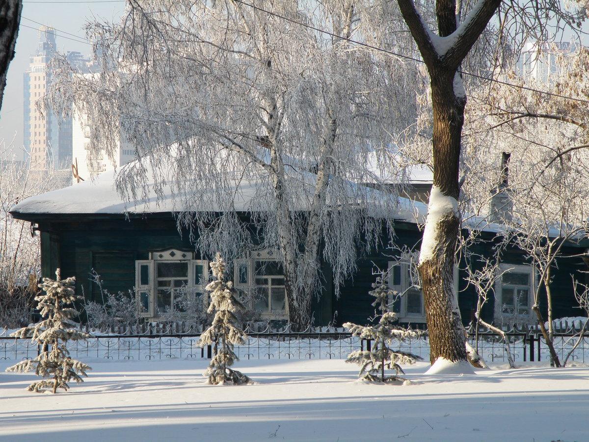 снежный новосибирск фото помешивая