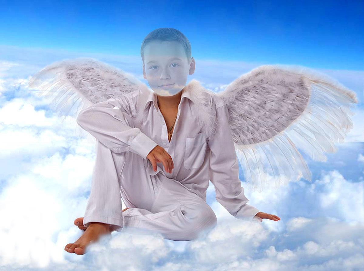 огромный ангел картинка распечатанными