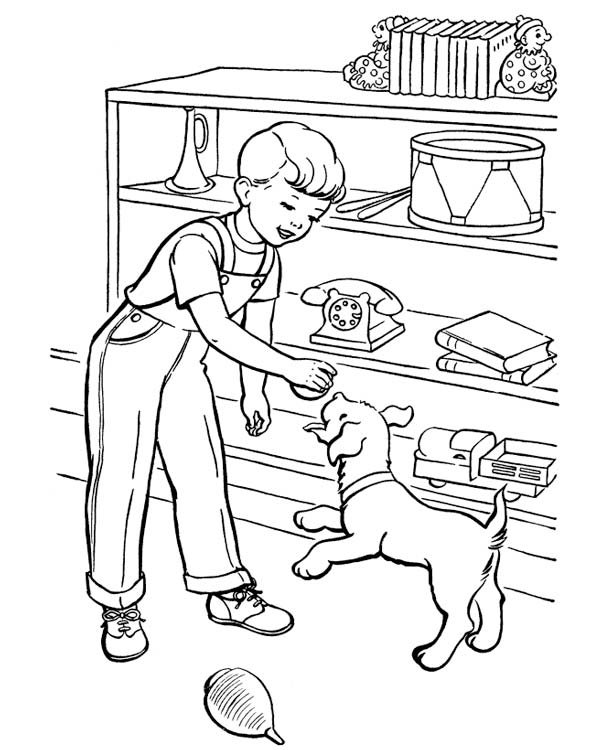 «Раскраски с собаками» — карточка от пользователя Марина Ч ...