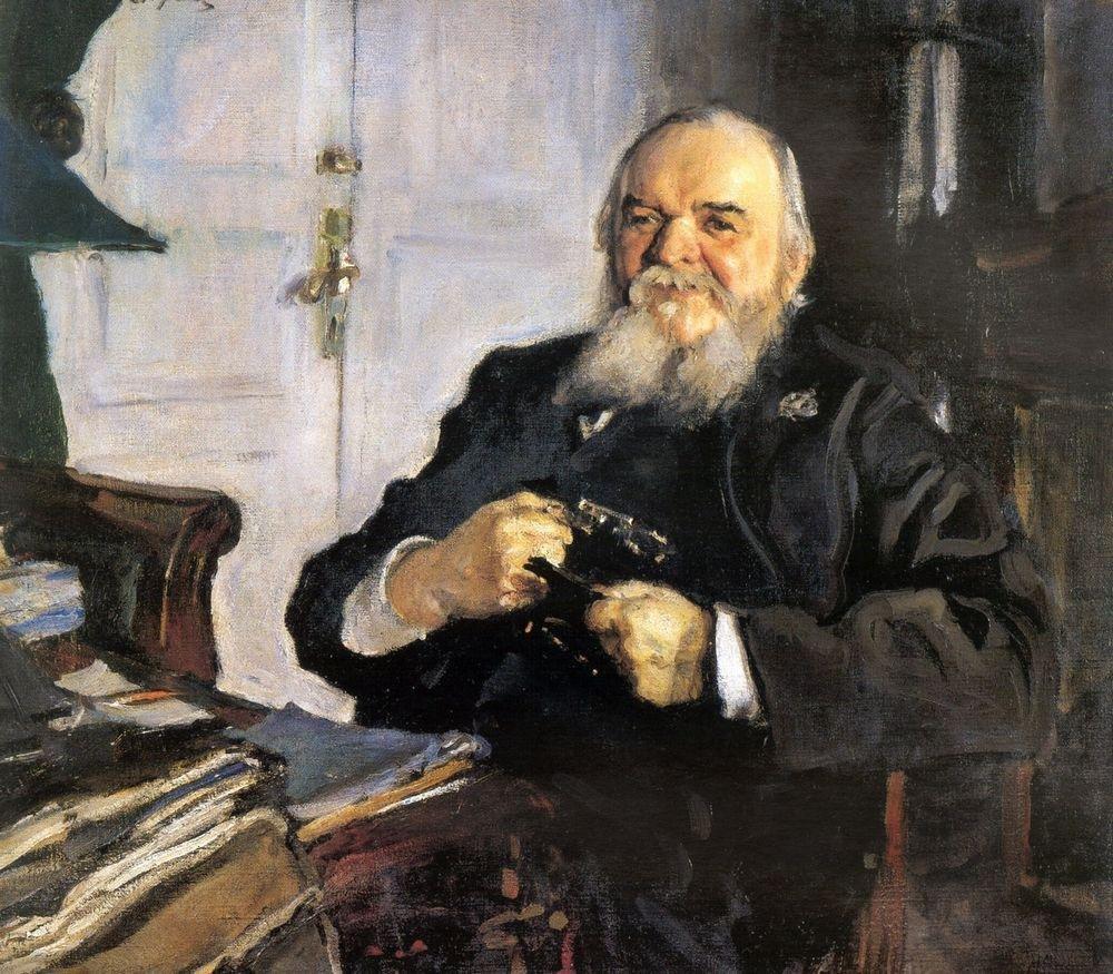 Портрет А. Н. Турчанинова Автор: Валентин Александрович Серов Создание: 1906 г.