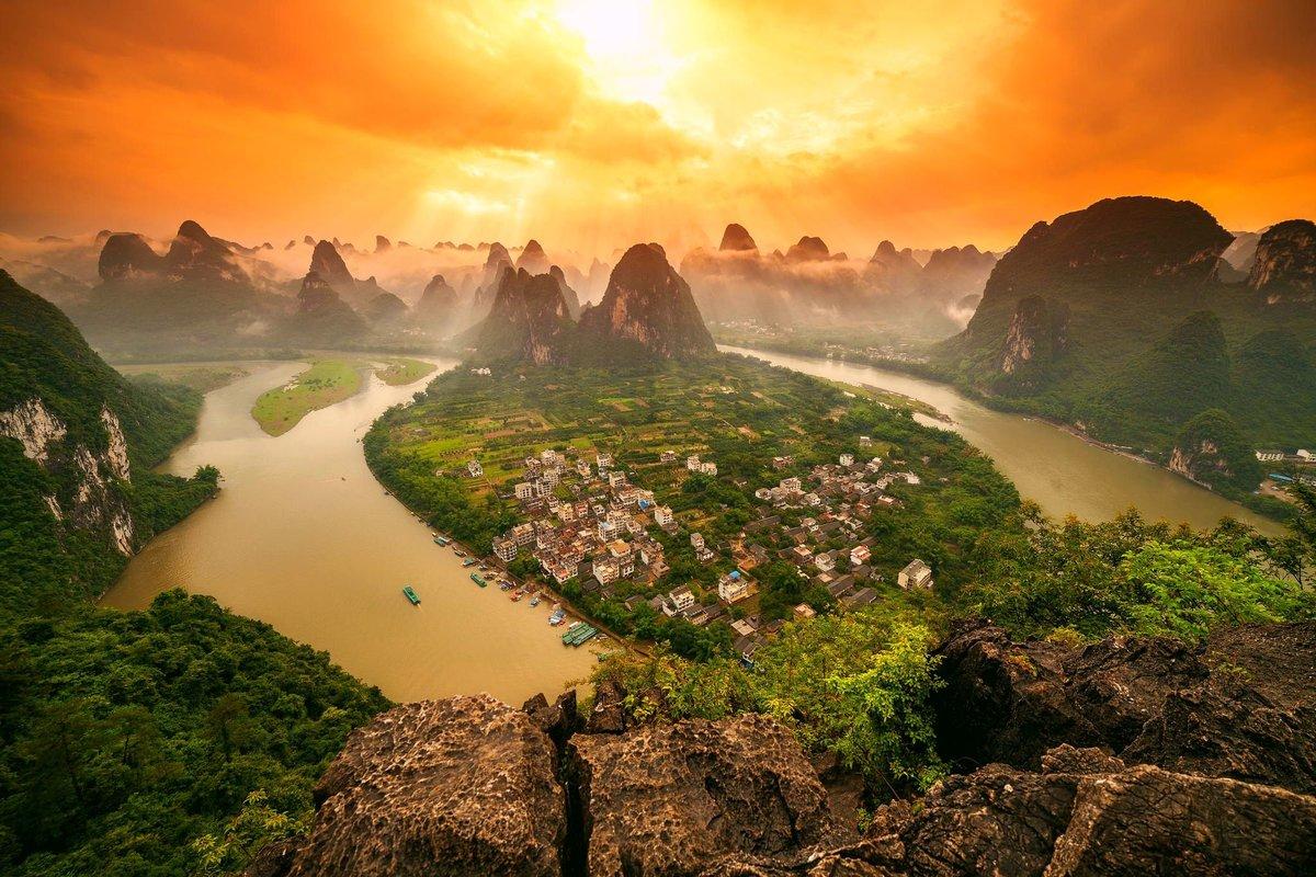 юмориста рассказала, самые красивые места китая фото фоне