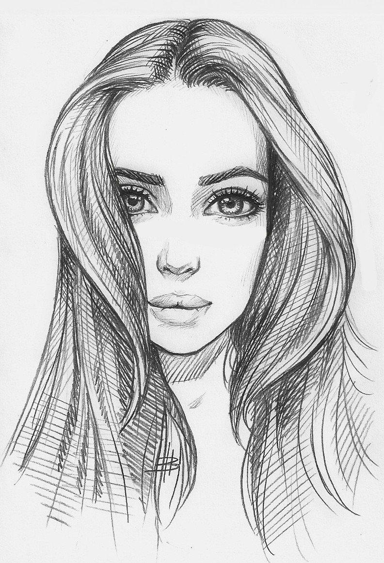 Beautiful Faces Drawings 21 Hyper Realistic Drawings Ideas F Card