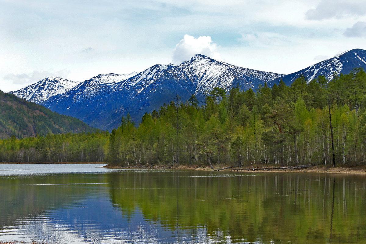Открытка, картинки байкальские горы
