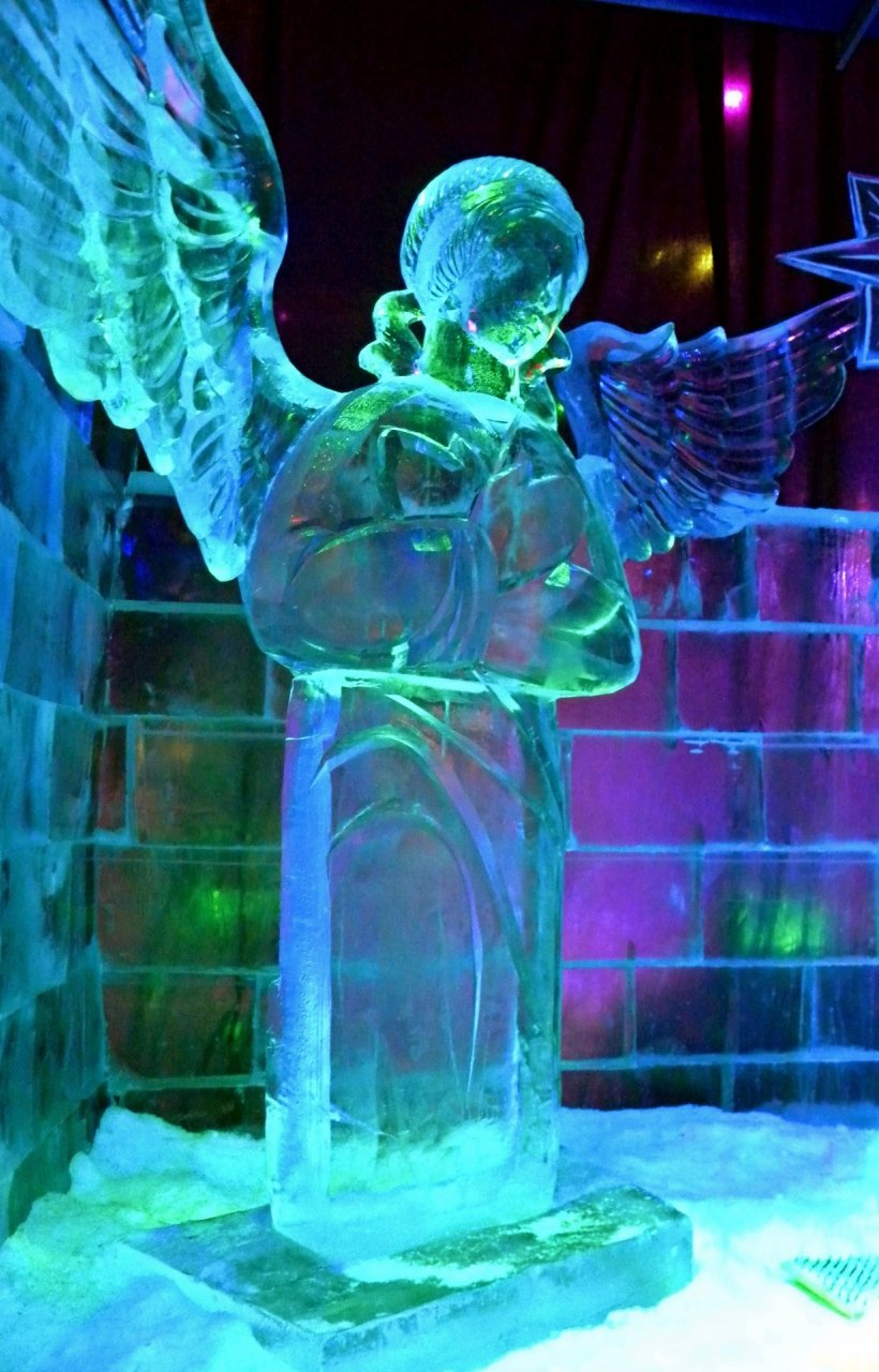 так как картинки ангел и лед этот