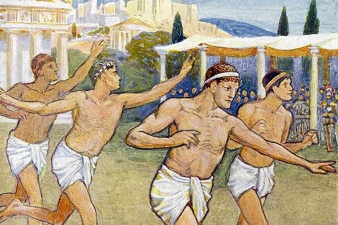 Картинки олимпийских игр в греции, приглашение день рождения