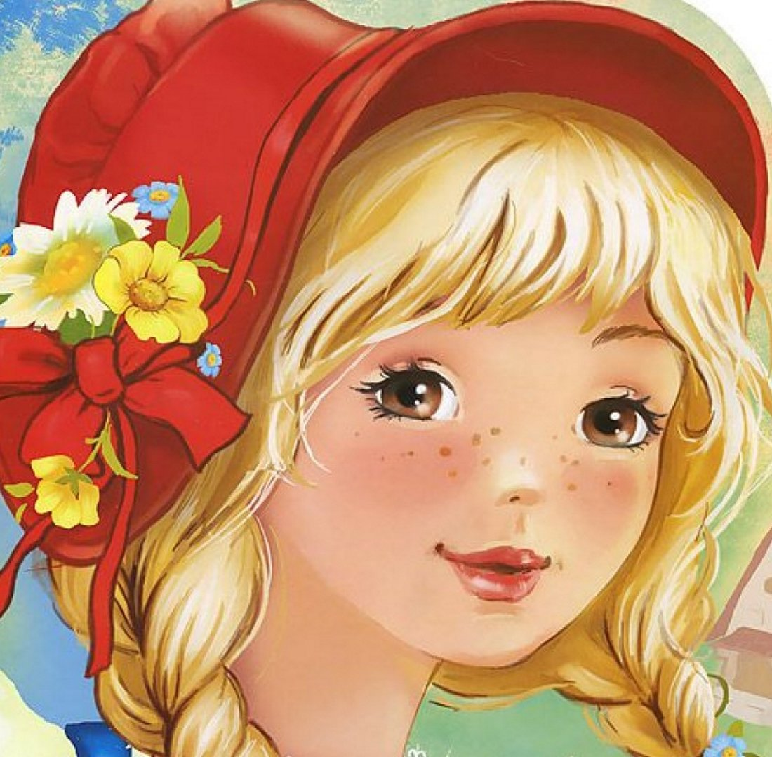 Рисунки сказочные герои девушки