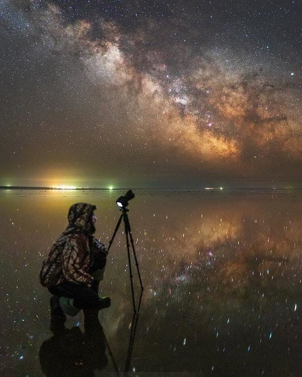 Фотоаппарат для снимков ночного неба