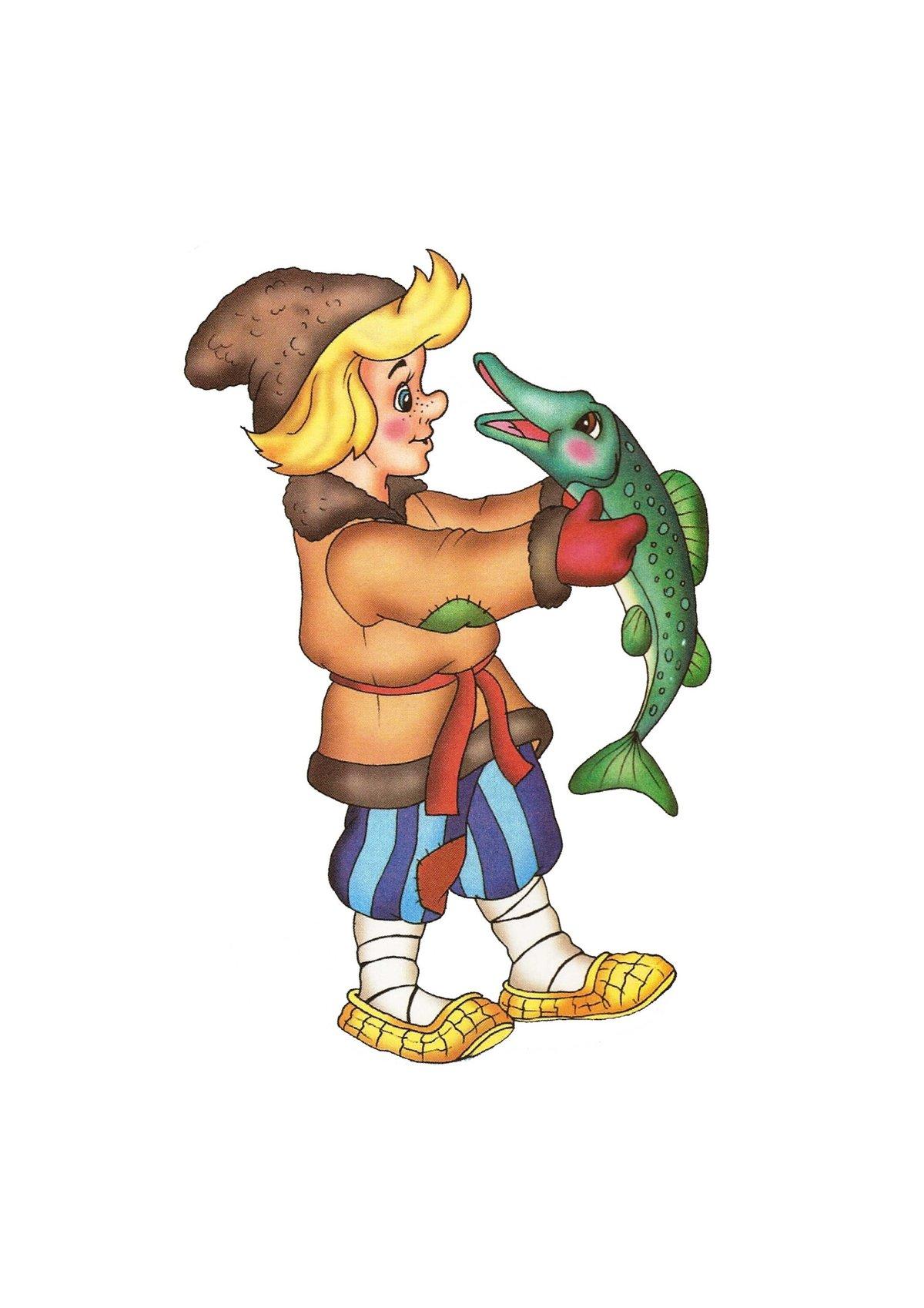 Емеля сказка картинки для детей