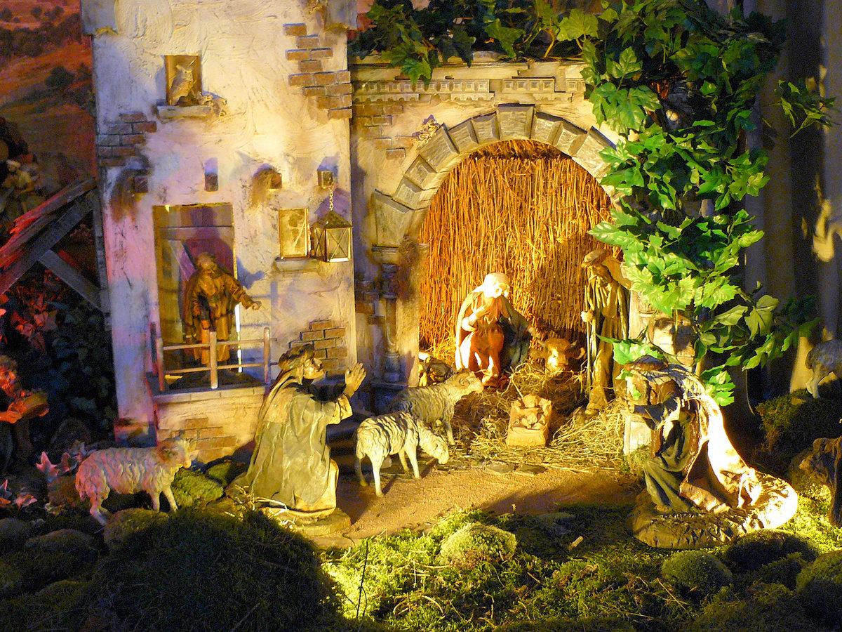 Картинки рождественский вертеп