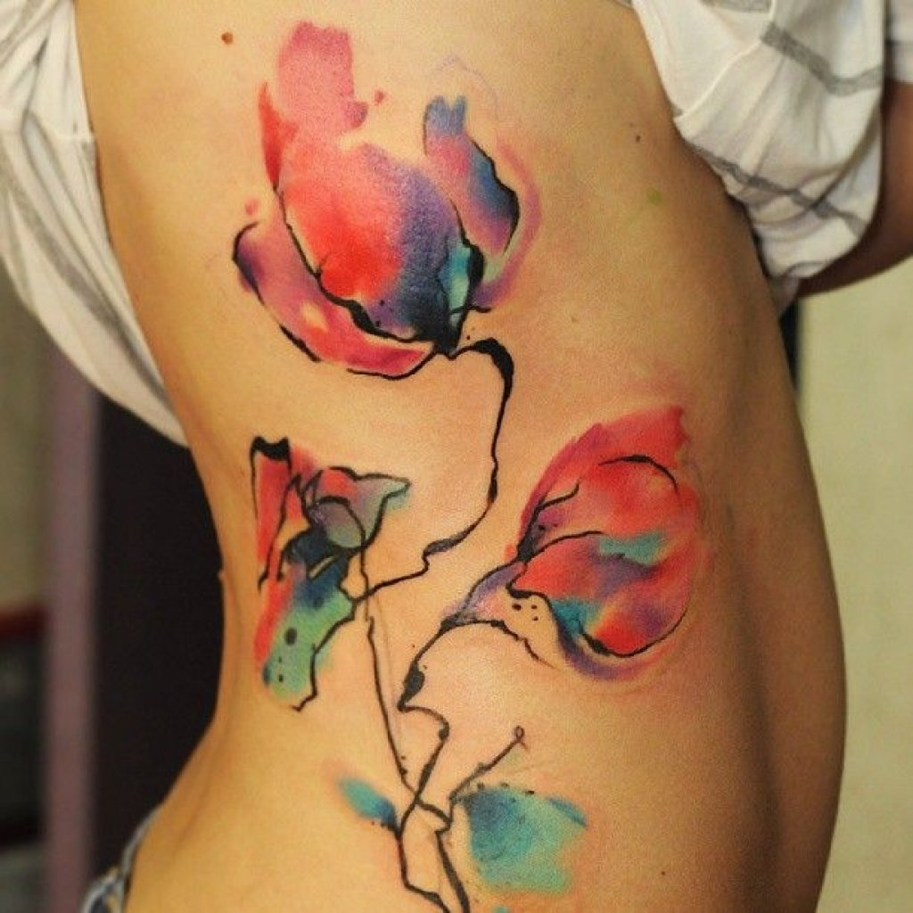 watercolor tattoo images