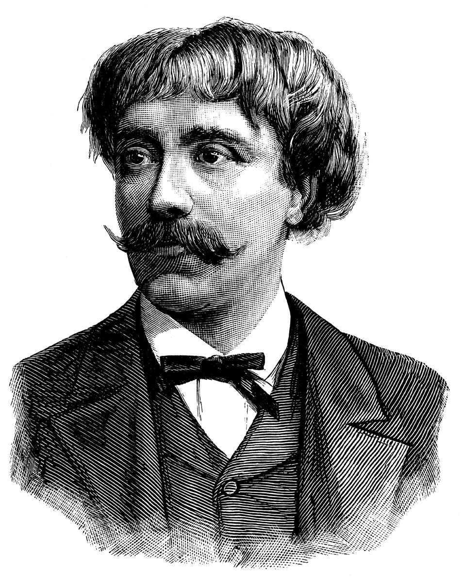 Пабло Сарасате. Литография