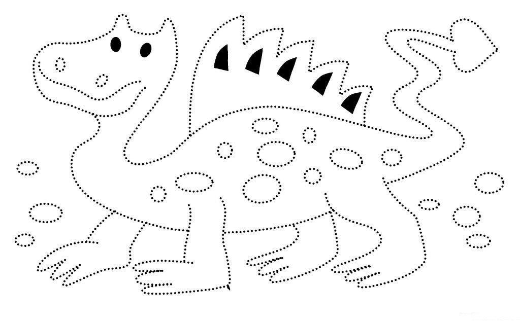 Картинки по точкам рисовать для детей