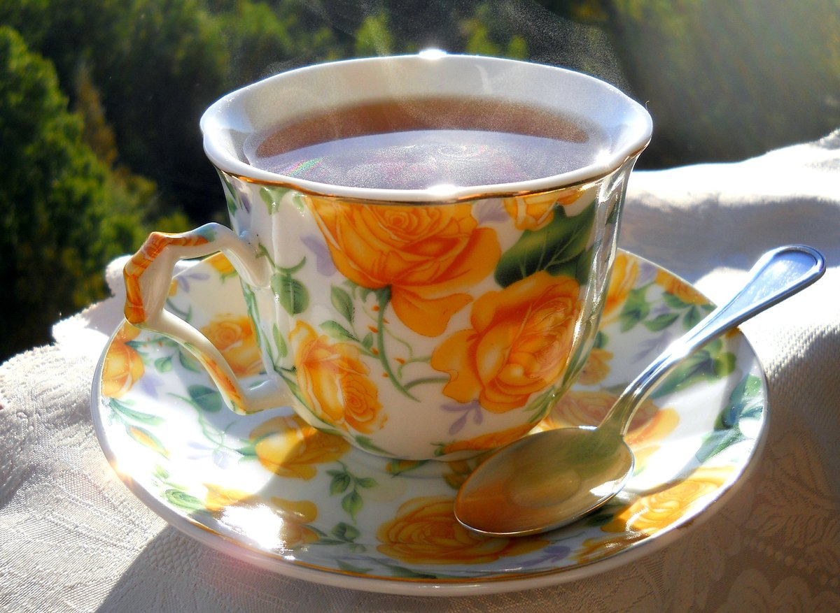 Картинки как пить чай
