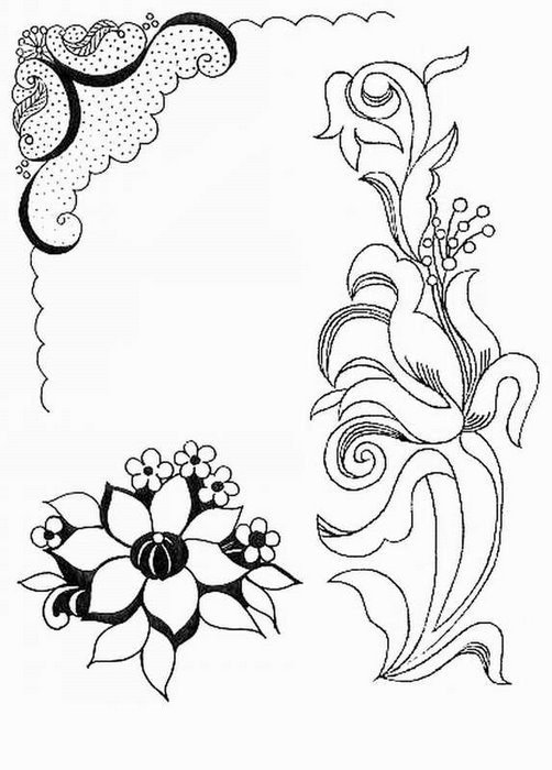 Красивые узоры карандашом на бумаге картинки