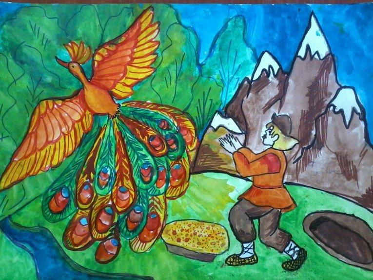фигур русские народные сказки рисунок на конкурс карты