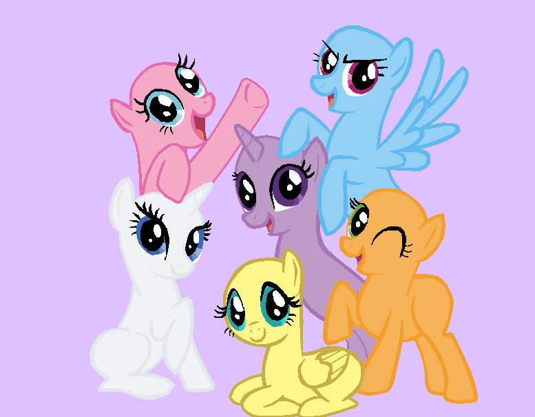 Mlp Bases Pony Friendship Is Magic Www Pixshark Com Images Card