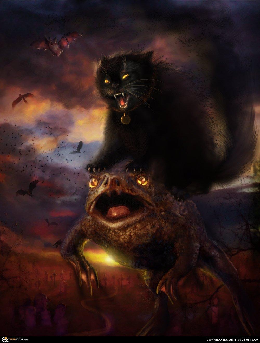 Картинки ведьмин кот