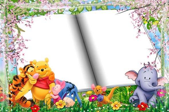 Детские рамки для открытки