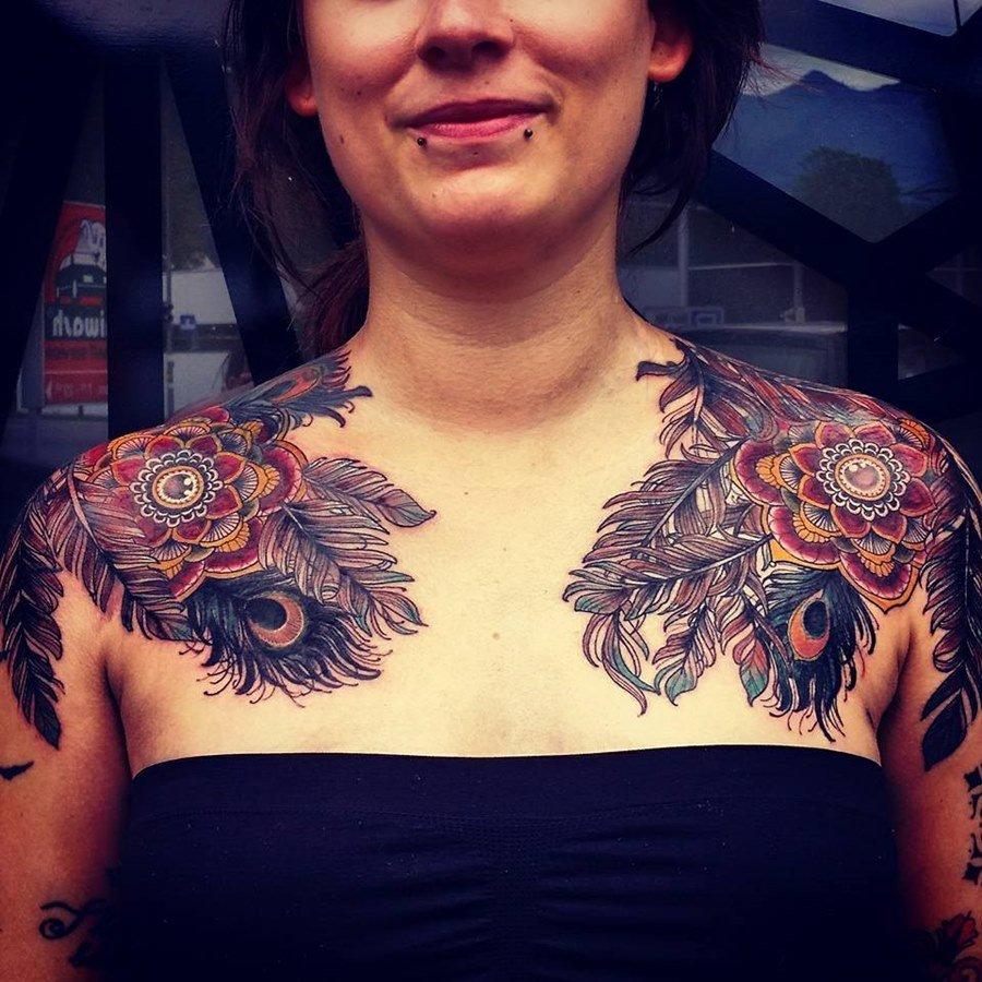 огурец кожицы фотографии татуировок на ключице ёлка, ёлочные украшения