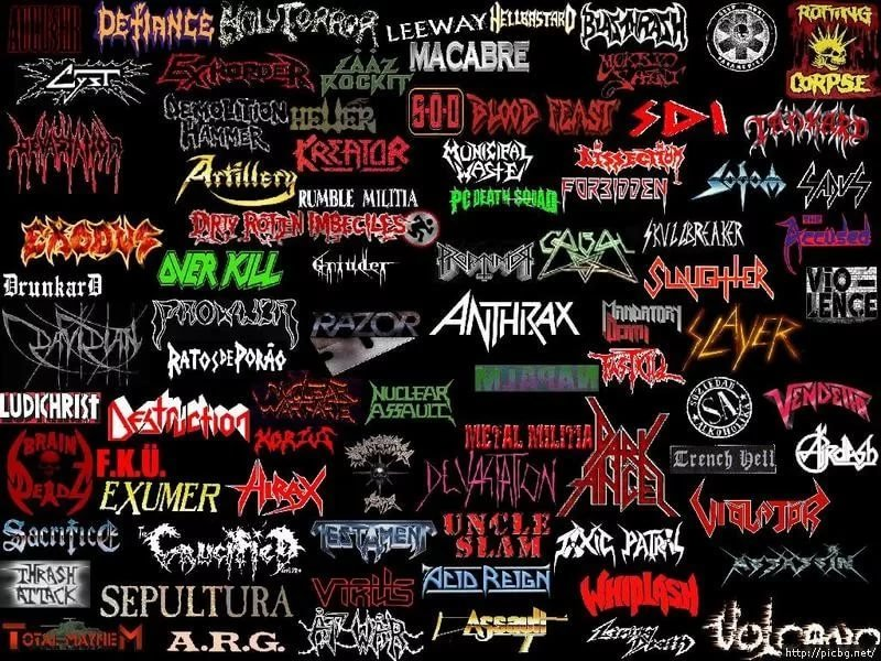 Картинки с надписью рок групп